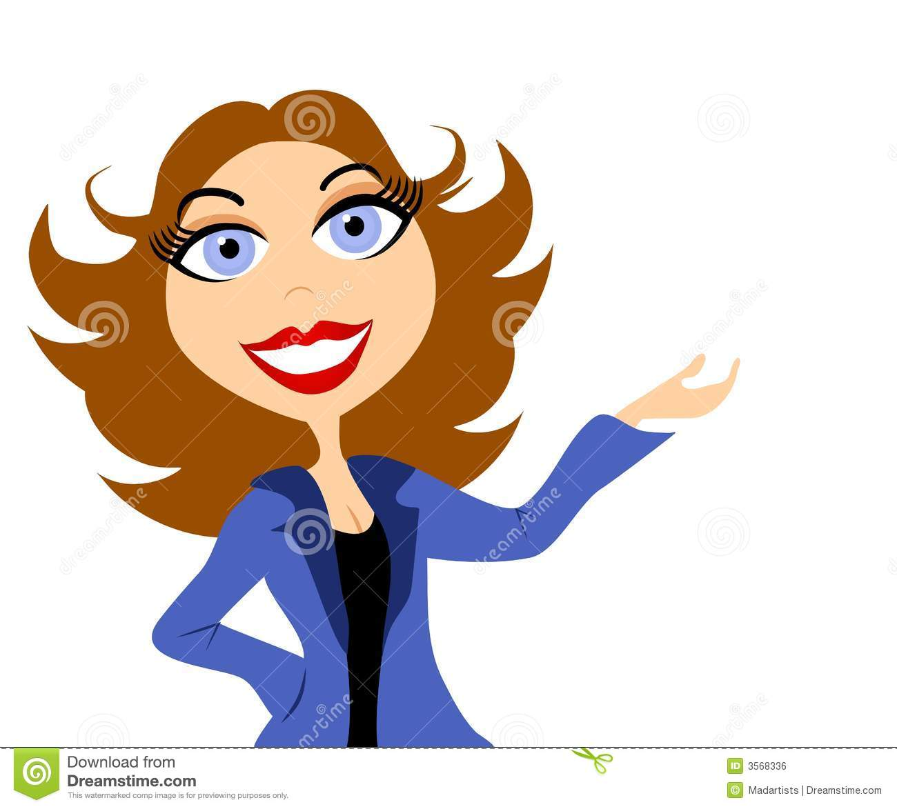 business woman presentation stock illustration illustration of rh dreamstime com  free clipart images for business presentations