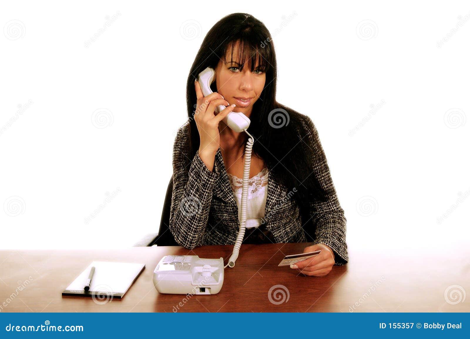 Business Woman Tele_Shopping