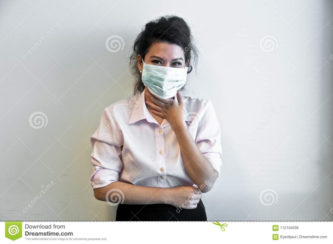 How to face wear mask when sick exclusive photo