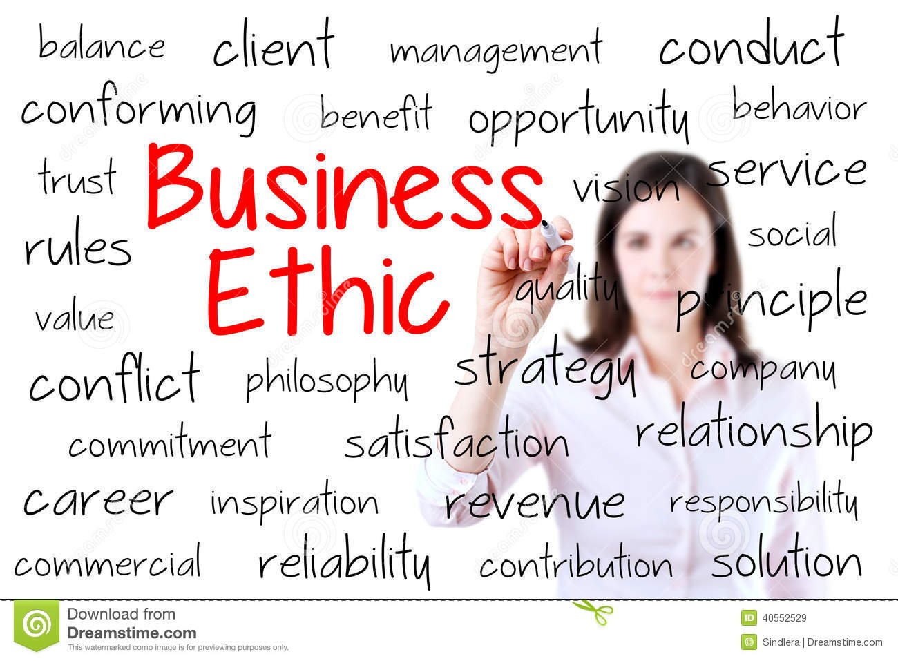 ethic based management Companies that incorporate a set of managerial ethics or guidelines create a clear  policy-based managerial ethics refer to  of arts in information management.