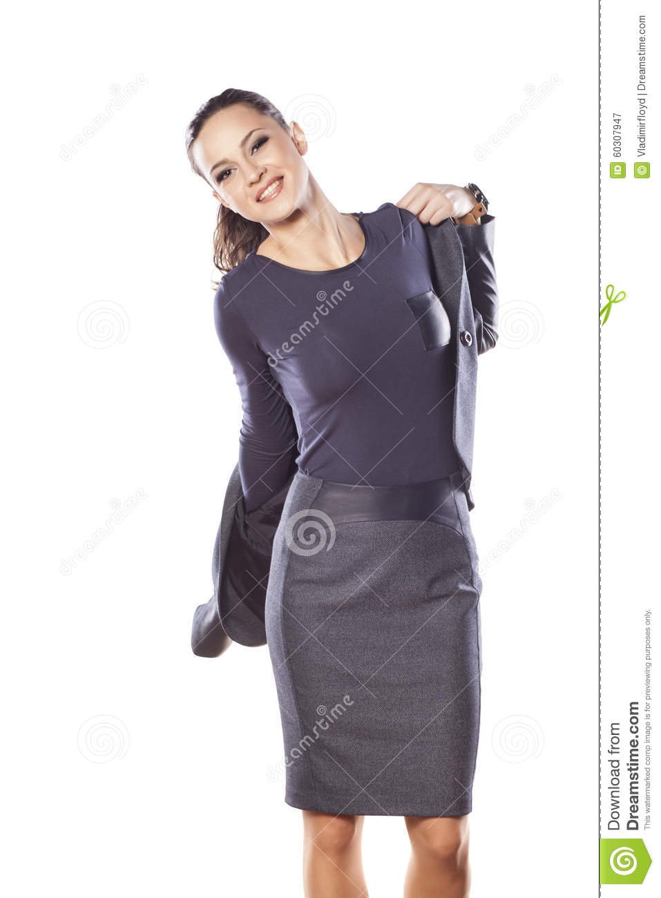 Business Women Outfit Stock Photo - Image 60307947-3193