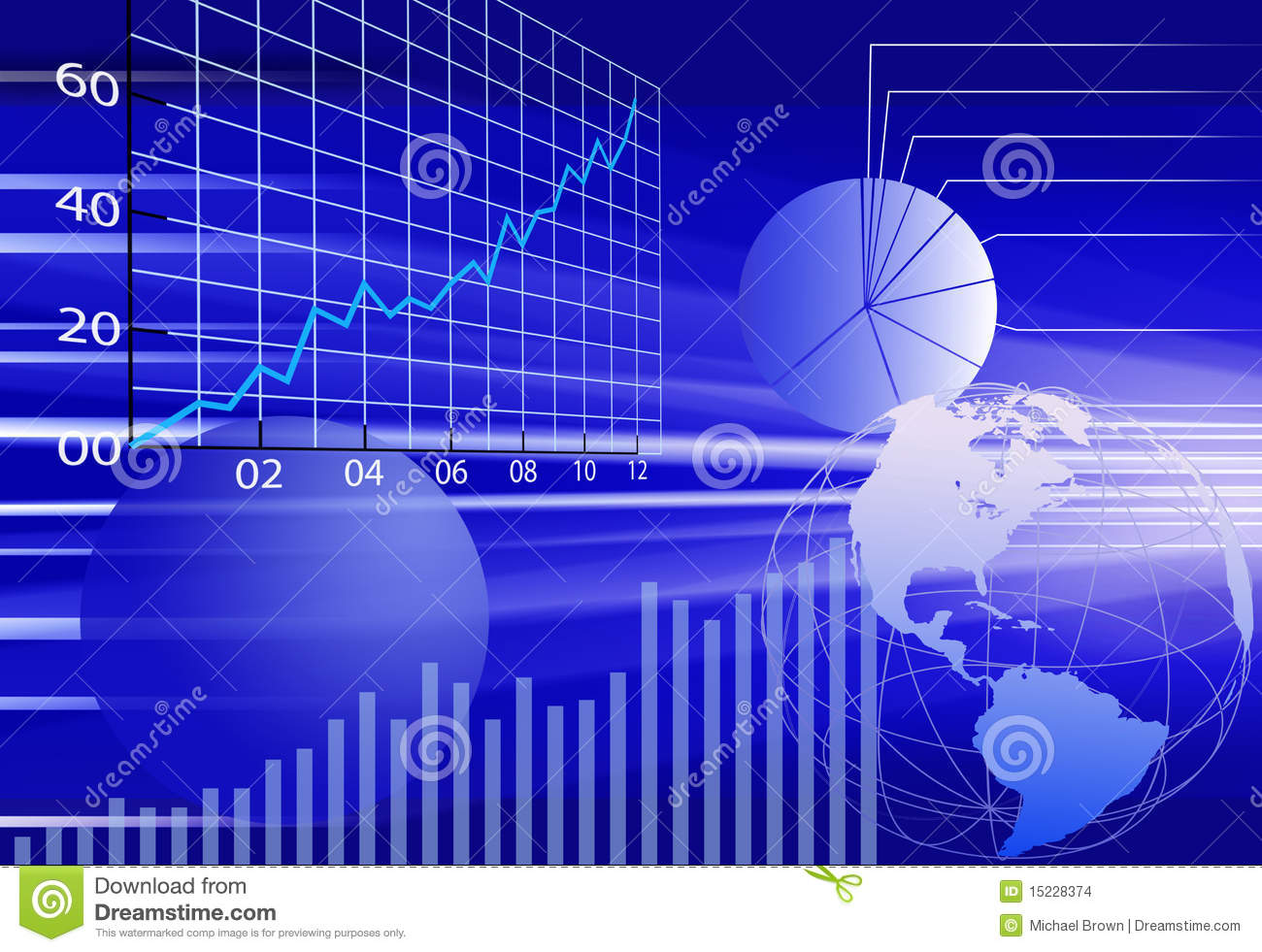 Business World Financial Data Abstract Background Stock