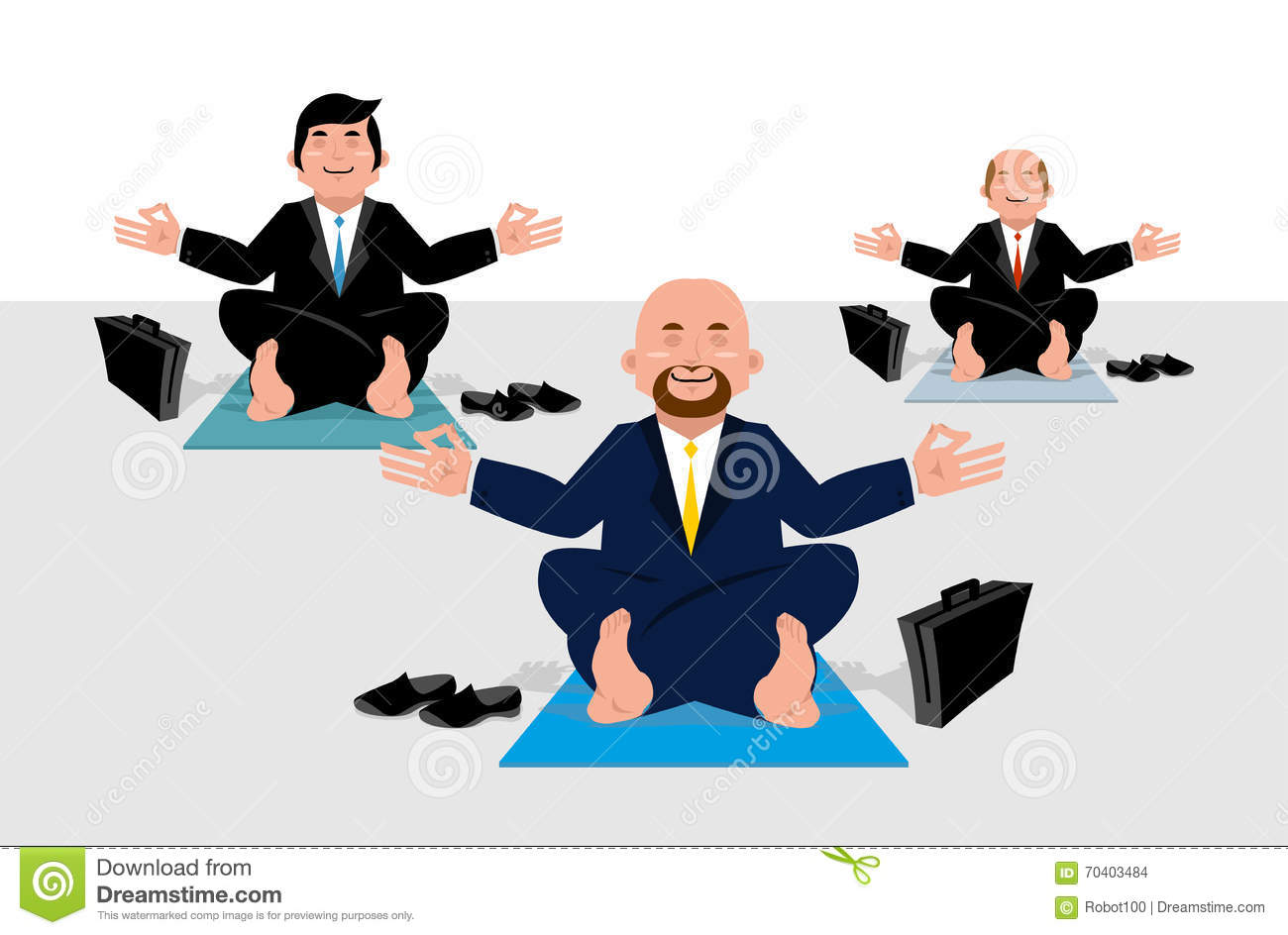 meditation businessman office. business corporate lotus meditate office meditation businessman d