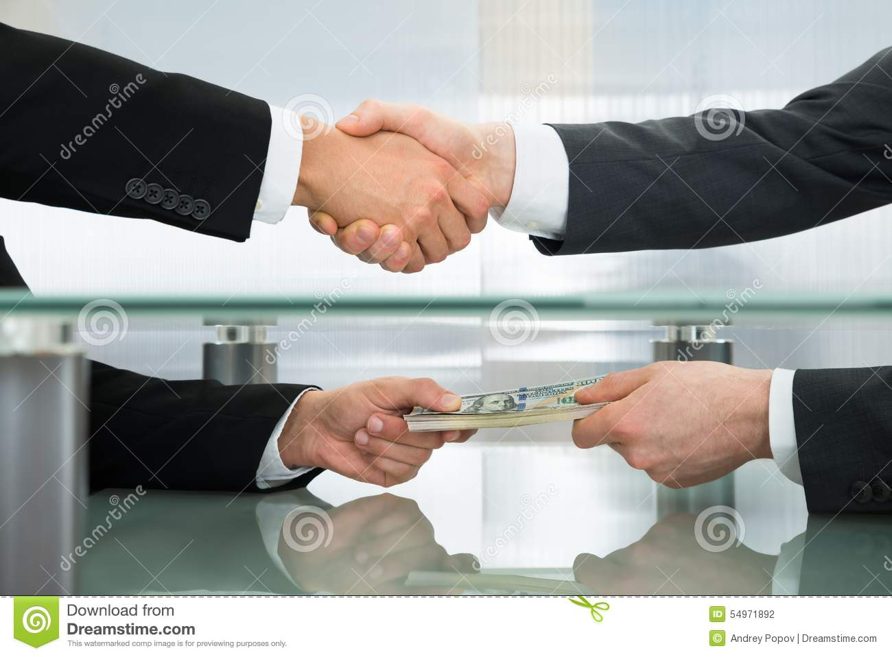 businessman accepting an offer of money stock photo image 54971892 businessman accepting an offer of money