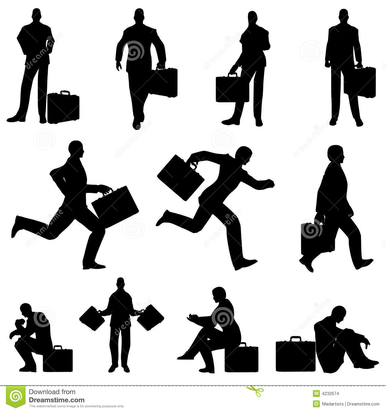 businessman briefcase silhouettes stock illustration pressure washing clipart in black and white pressure washing clipart free to use