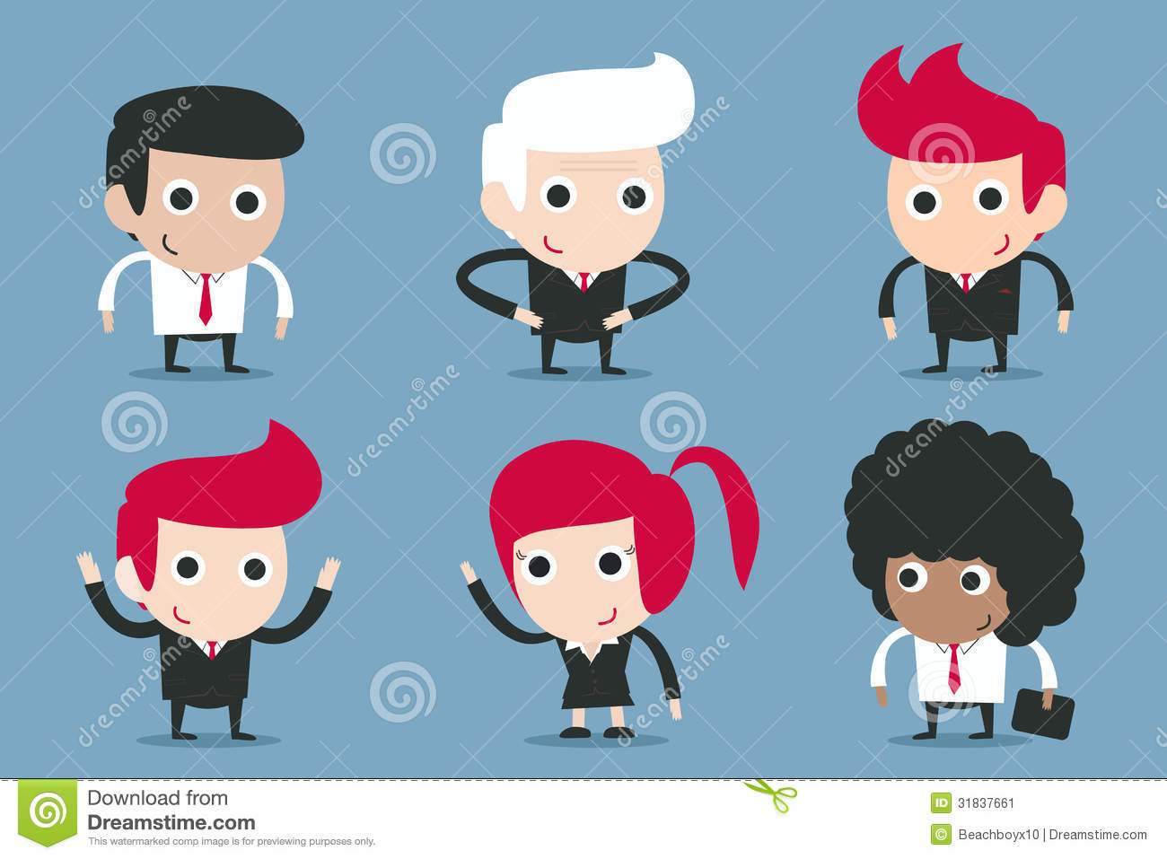 Cartoon Characters Design : Businessman cartoon stock illustration of