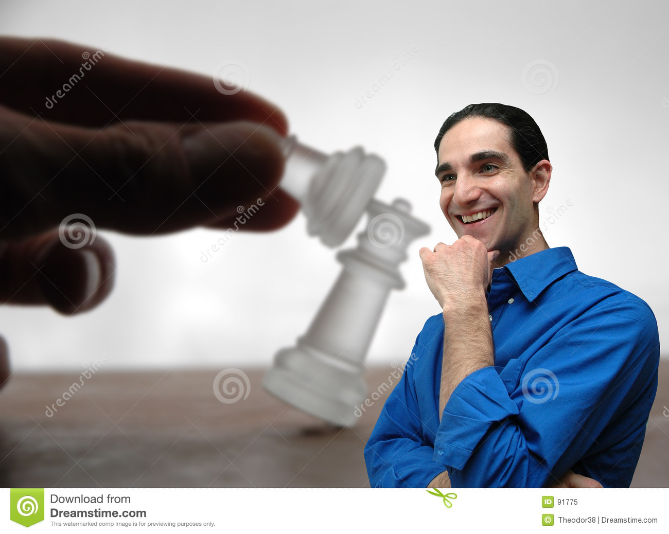 Businessman and chess-5