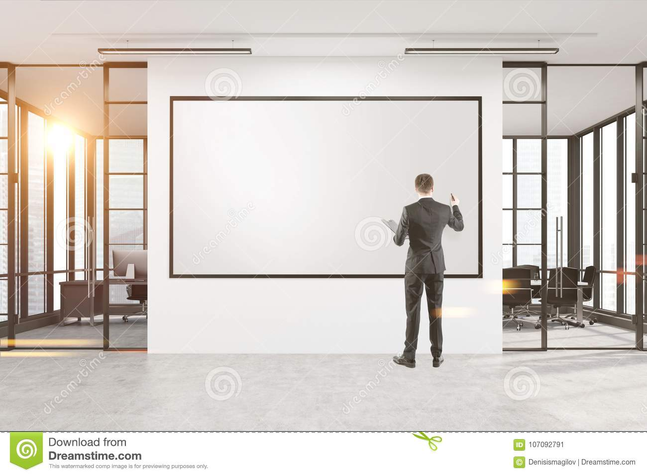 whiteboard for office wall. Download Businessman Drawing At A Whiteboard In Office Stock Image -  Of Creative, Concept Whiteboard For Office Wall