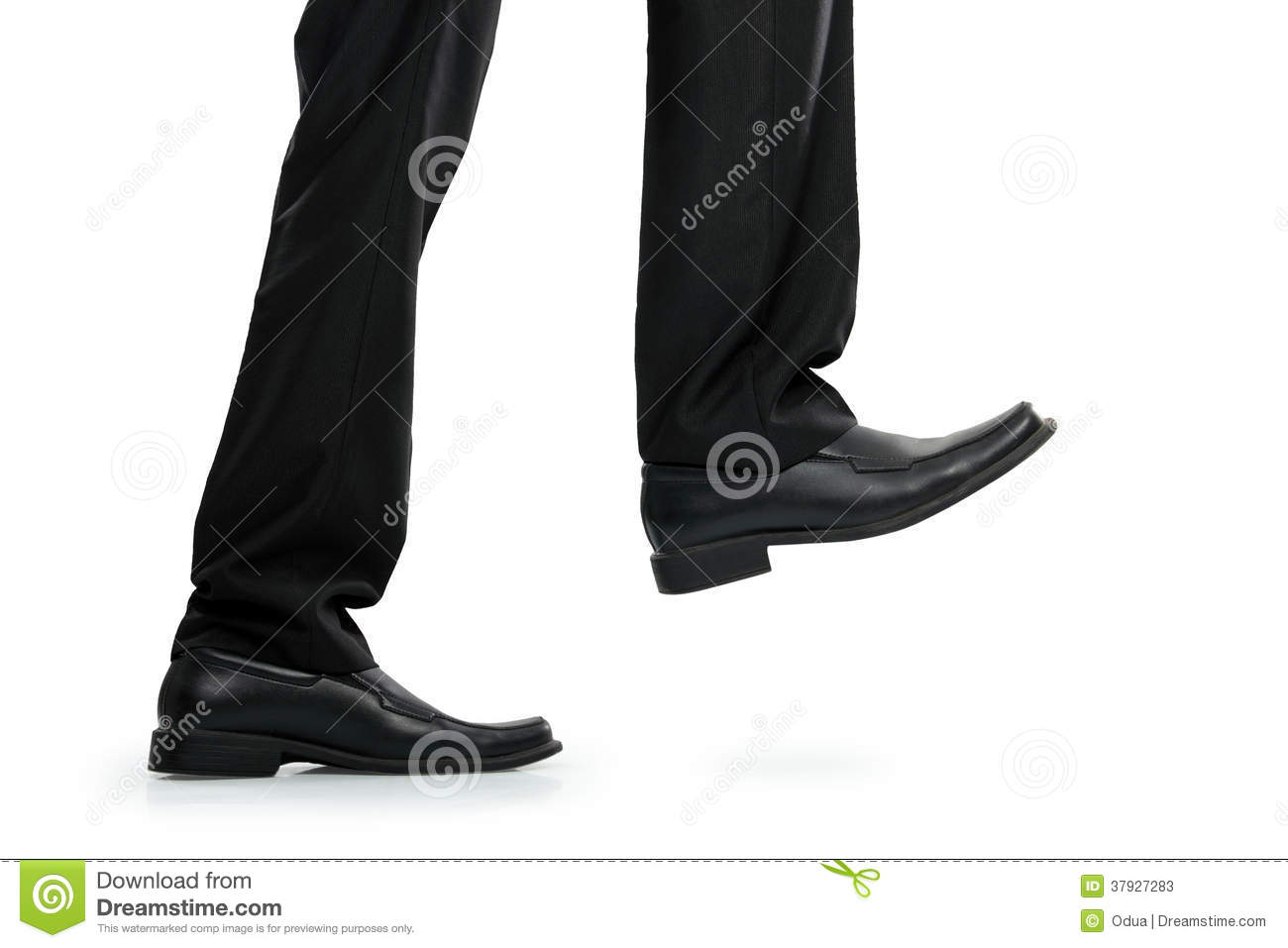 Businessman Running Shoes