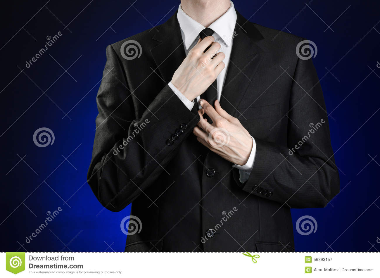 in a black suit and white Black And White And Blue Backgrounds