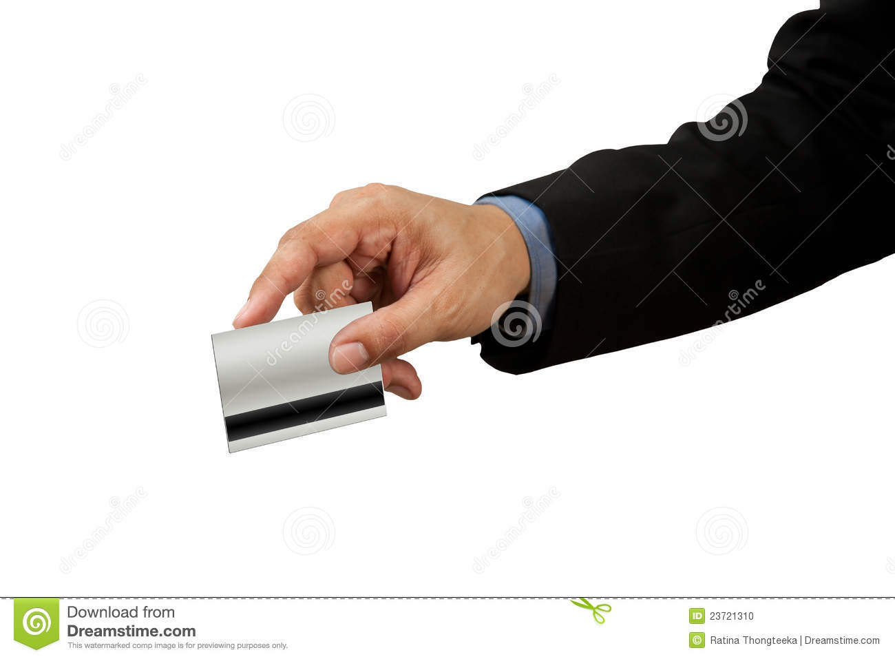 Businessman And Hand With Credit Card Swipe Stock Photo - Image of ...