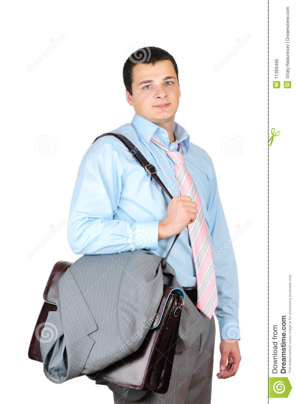 Businessman After Hard Work Day Royalty Free Stock Photo ...