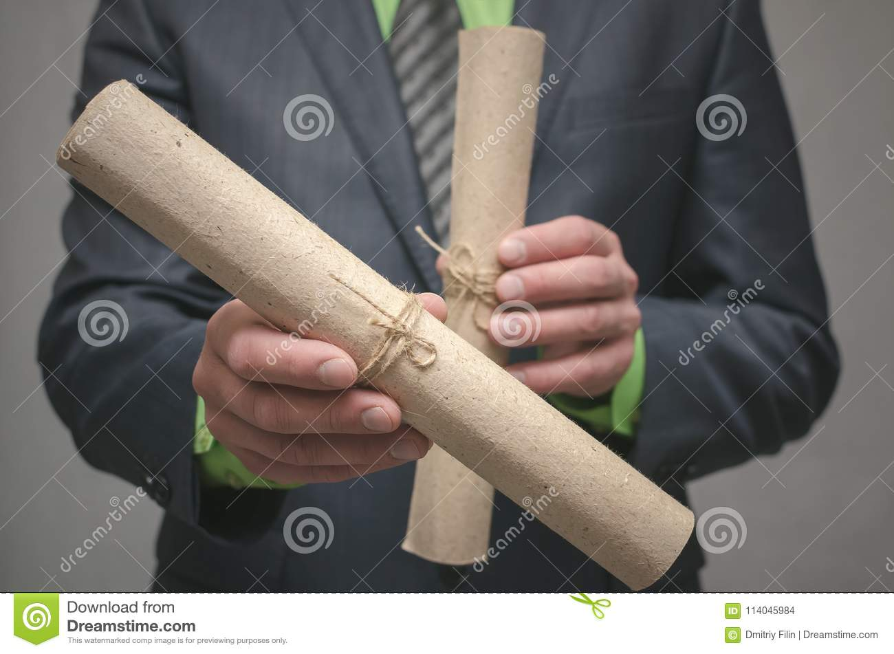 Conclusion Of A Business Contract Business Deal Concept Signing Of