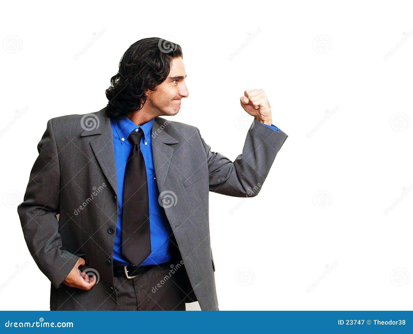 Businessman isoalted-10
