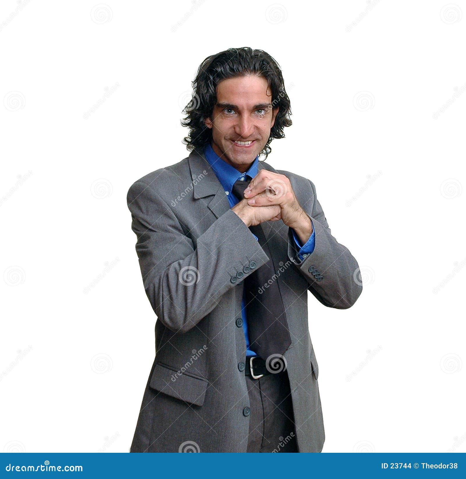 Businessman isolated-7