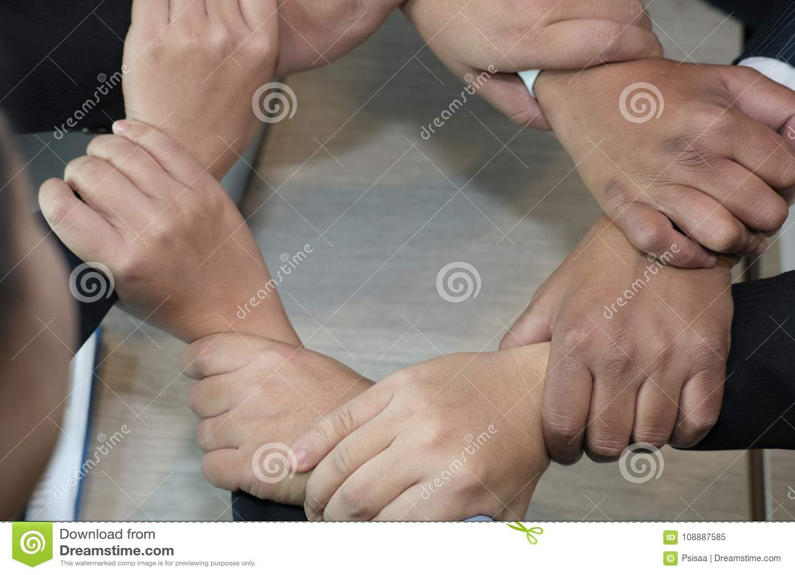 A Secret Handshake | The Village Granny |Touching Hands Together