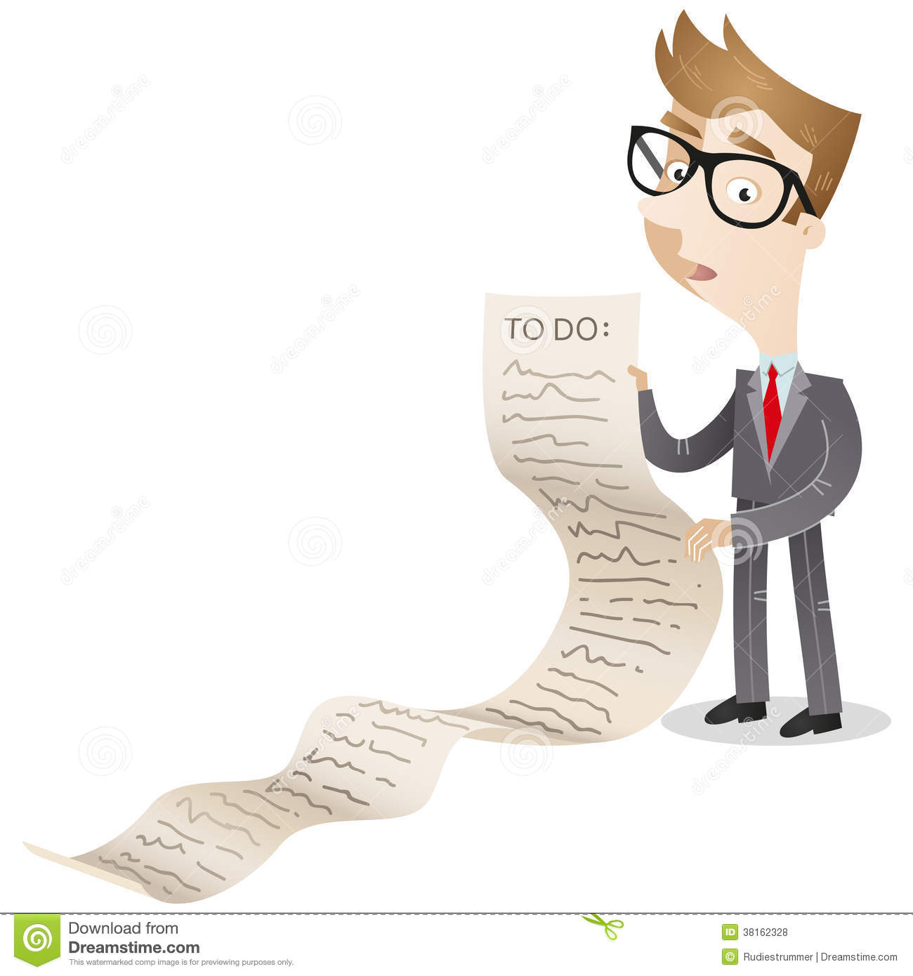businessman with long to do list royalty free stock photos clipart confused look clipart confused baby