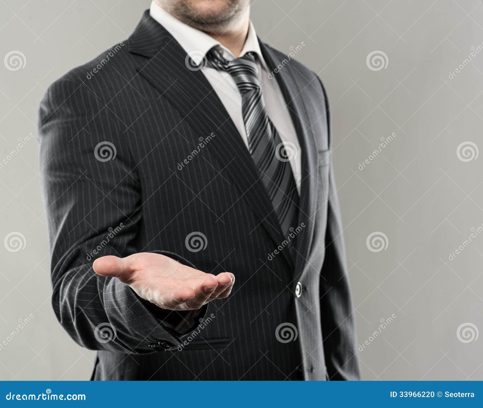 Technology Management Image: Businessman Stock Photo