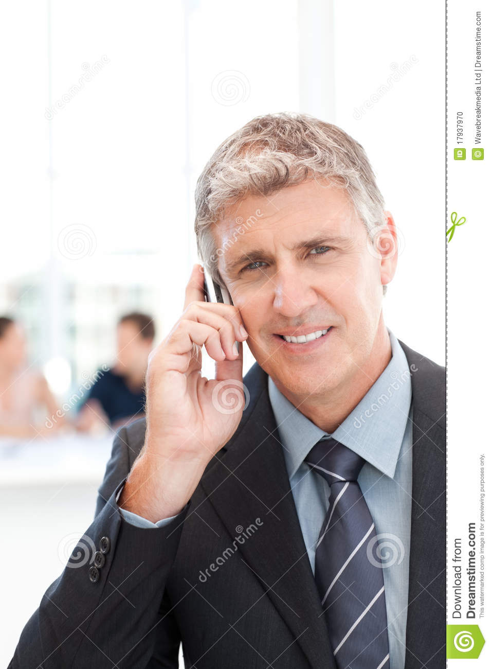 a discussion of the working time of a businessman Photo about business man working within the time limit, a time bomb vector illustration of businessman, marketing, career - 57293435.