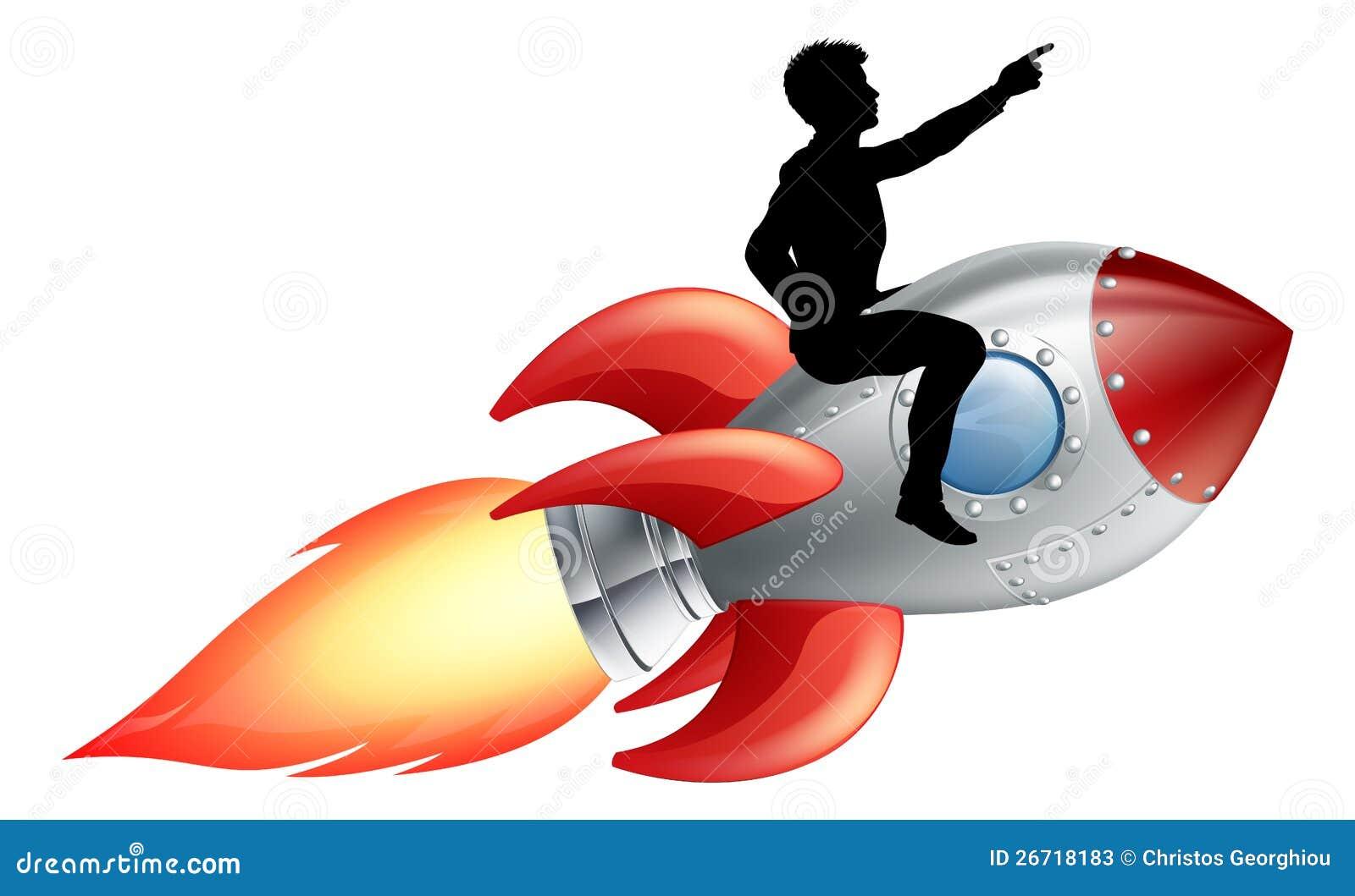 businessman riding rocket ship stock vector illustration rocket ship clip art free rocket ship clipart black background