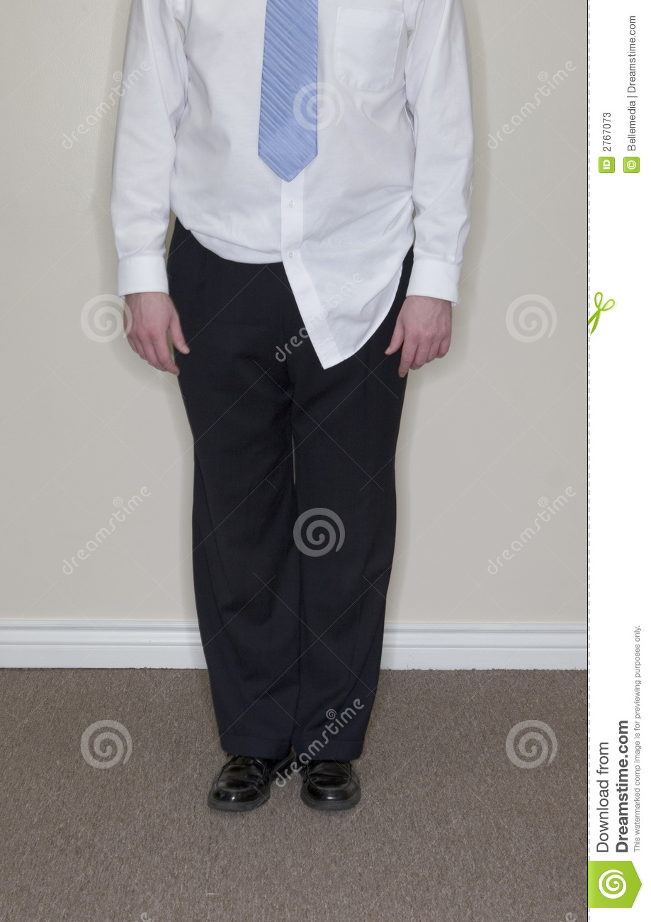 Businessman Shirt Untucked Stock Photos Image 2767073