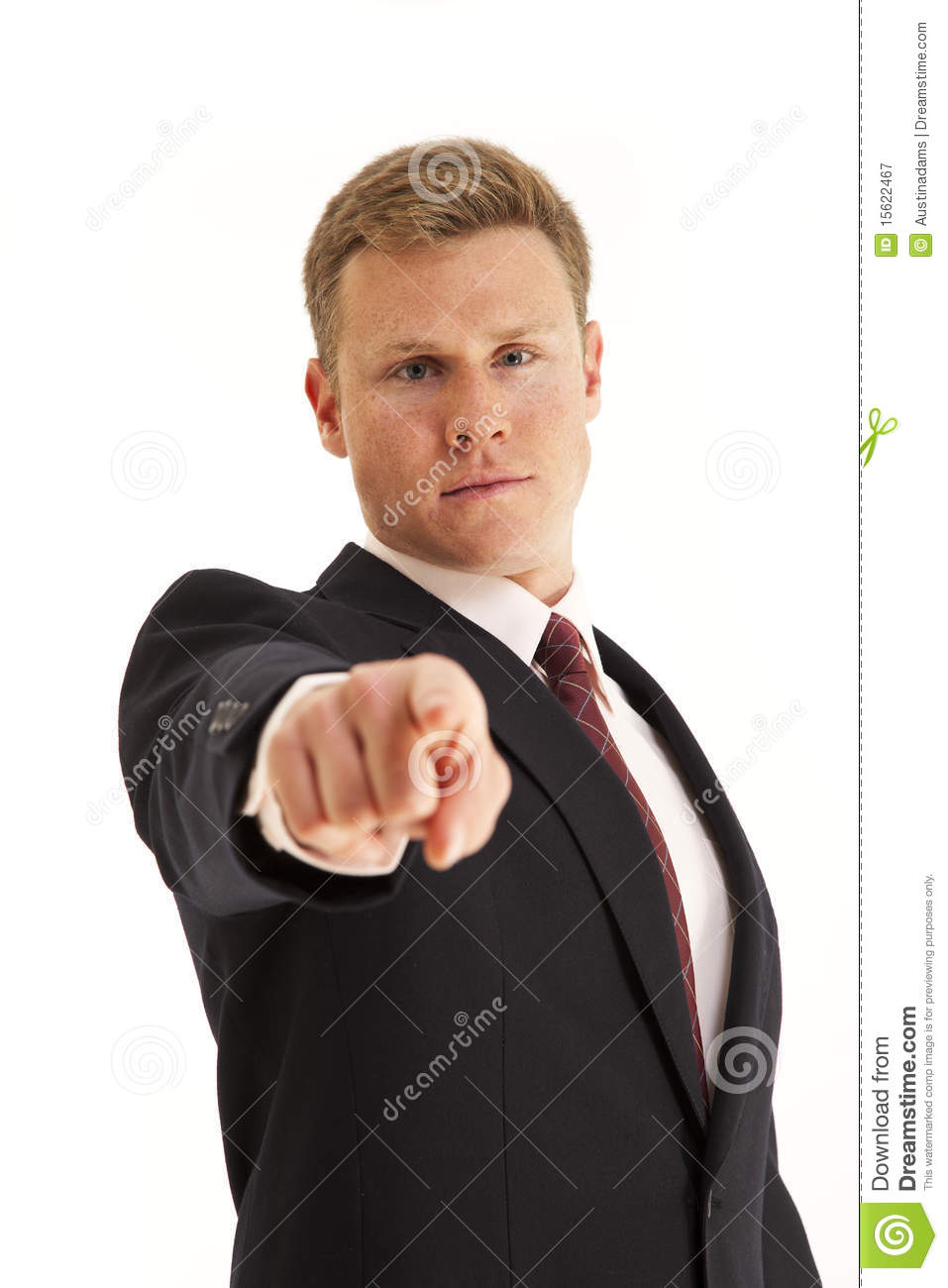 Person Pointing Finger Pointing finger at camera