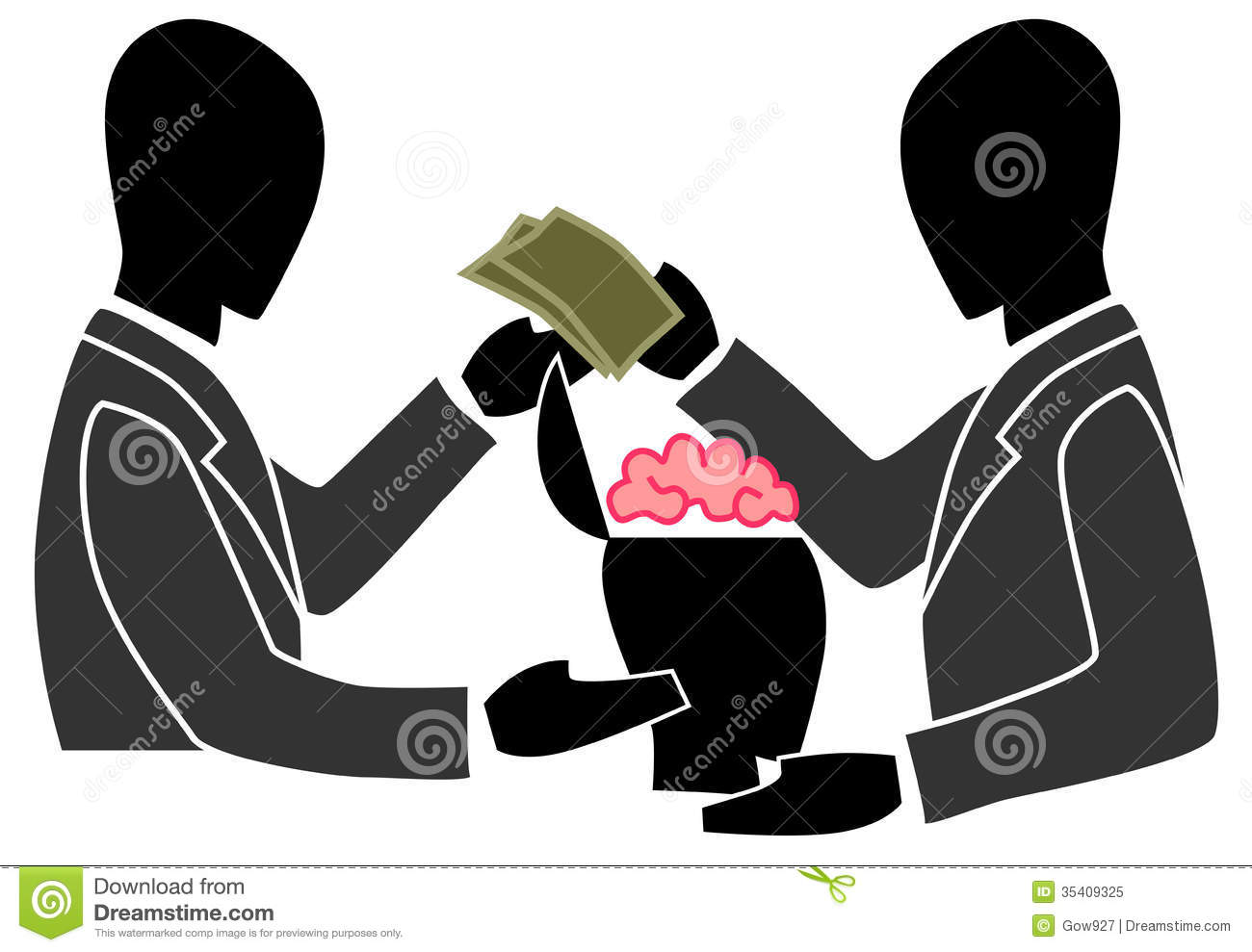 businessman-trading-other-peoples-brain-