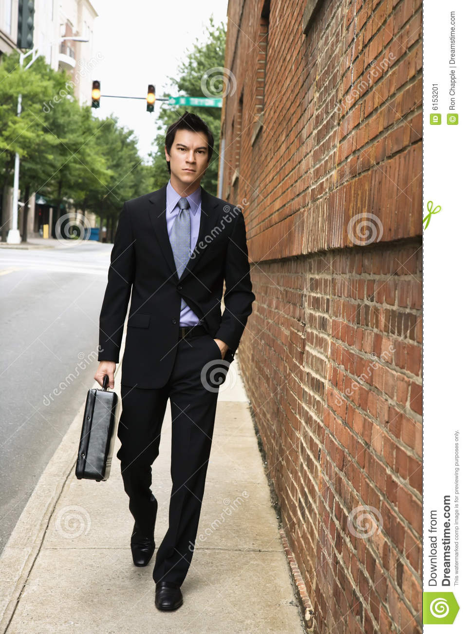 Business People Walking In A City Stock Photo - Image of ...  |Person Walking City