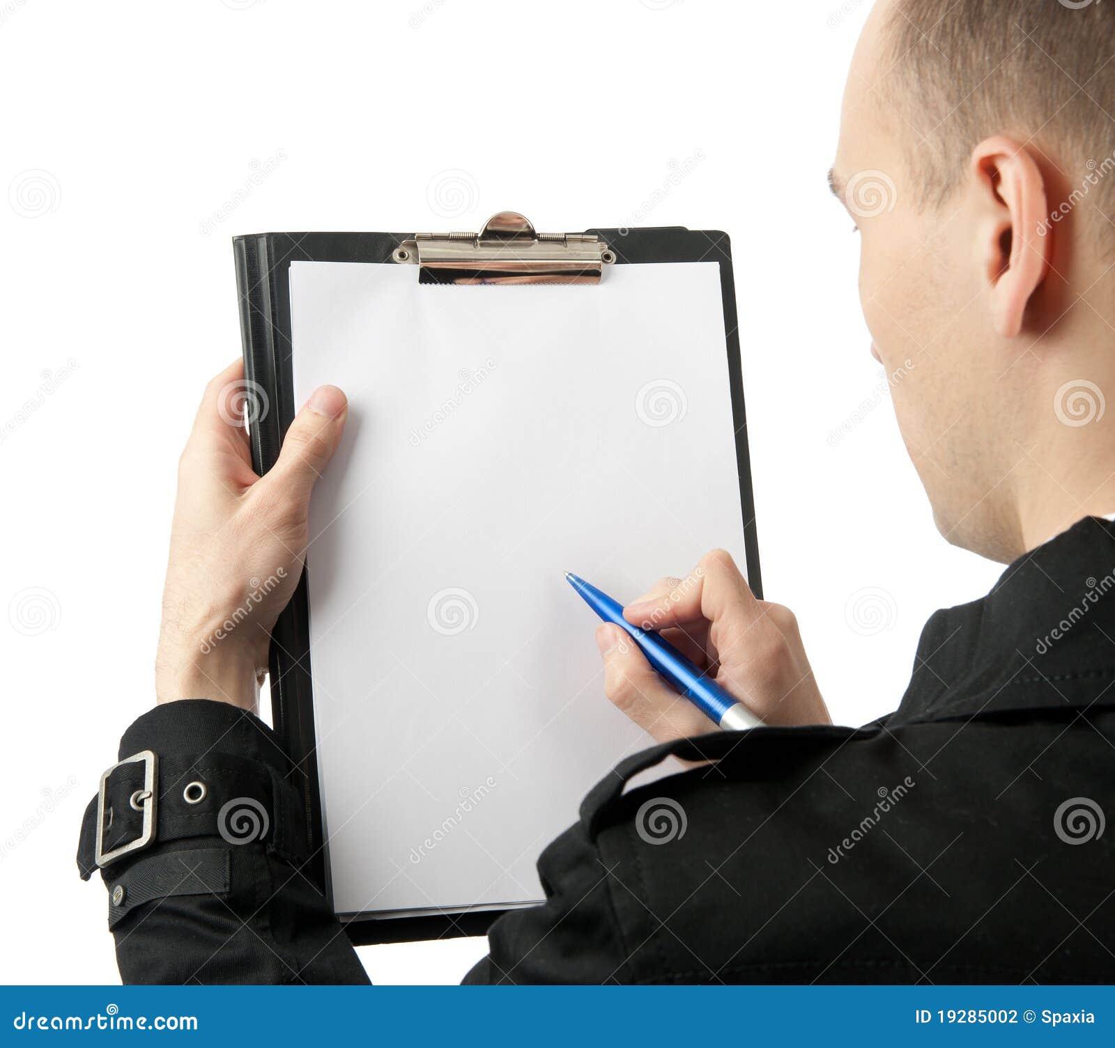 paper white writer