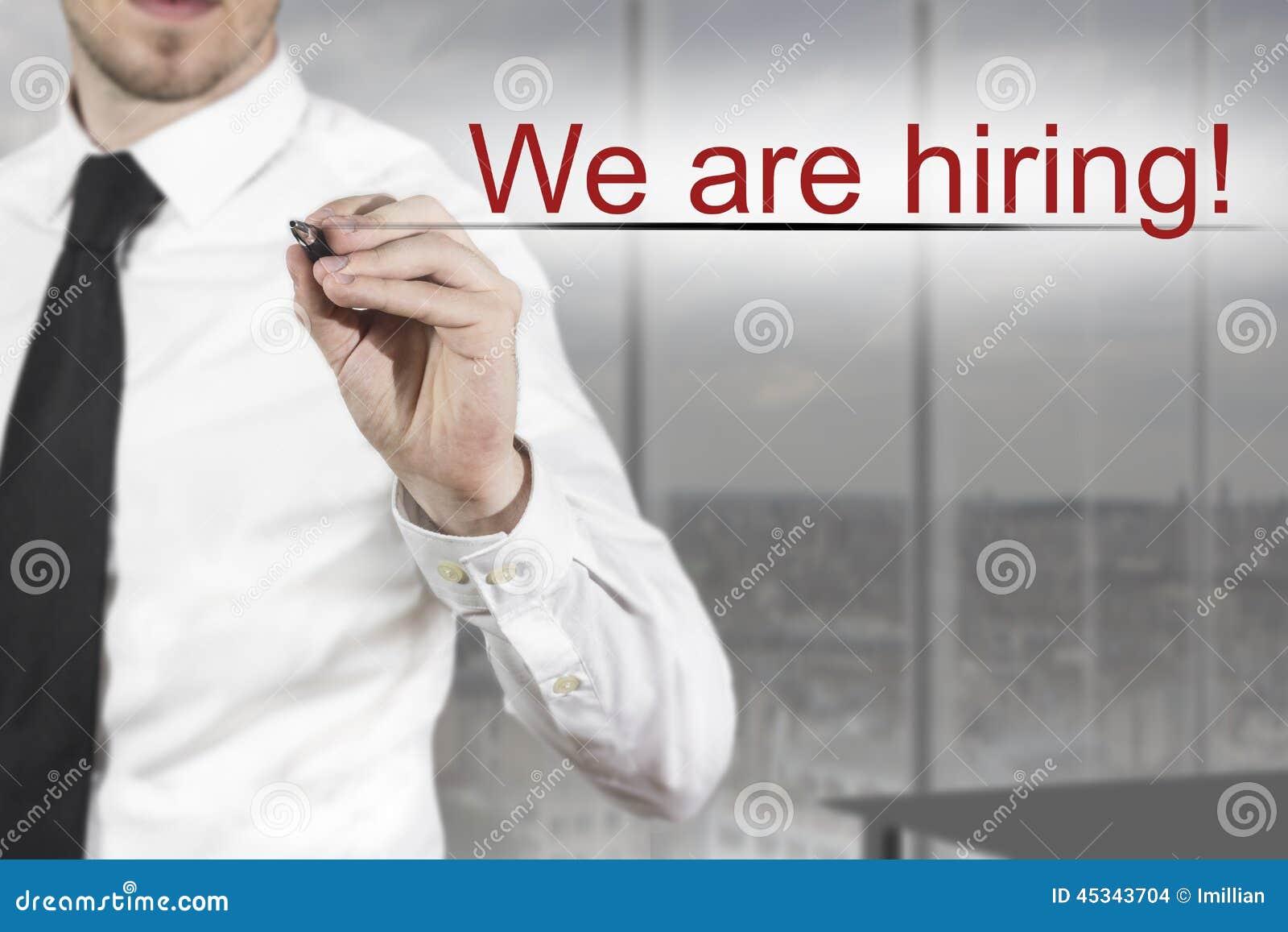 hiring writers