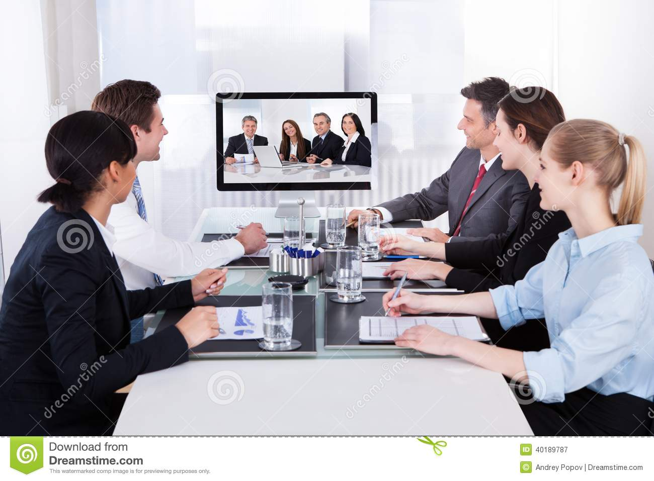 online video meeting