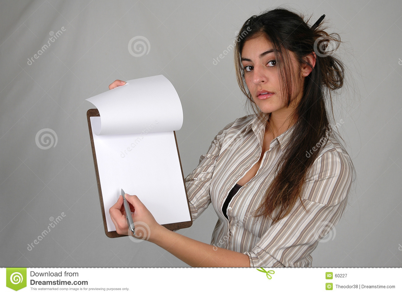 Businesswoman and documents-2