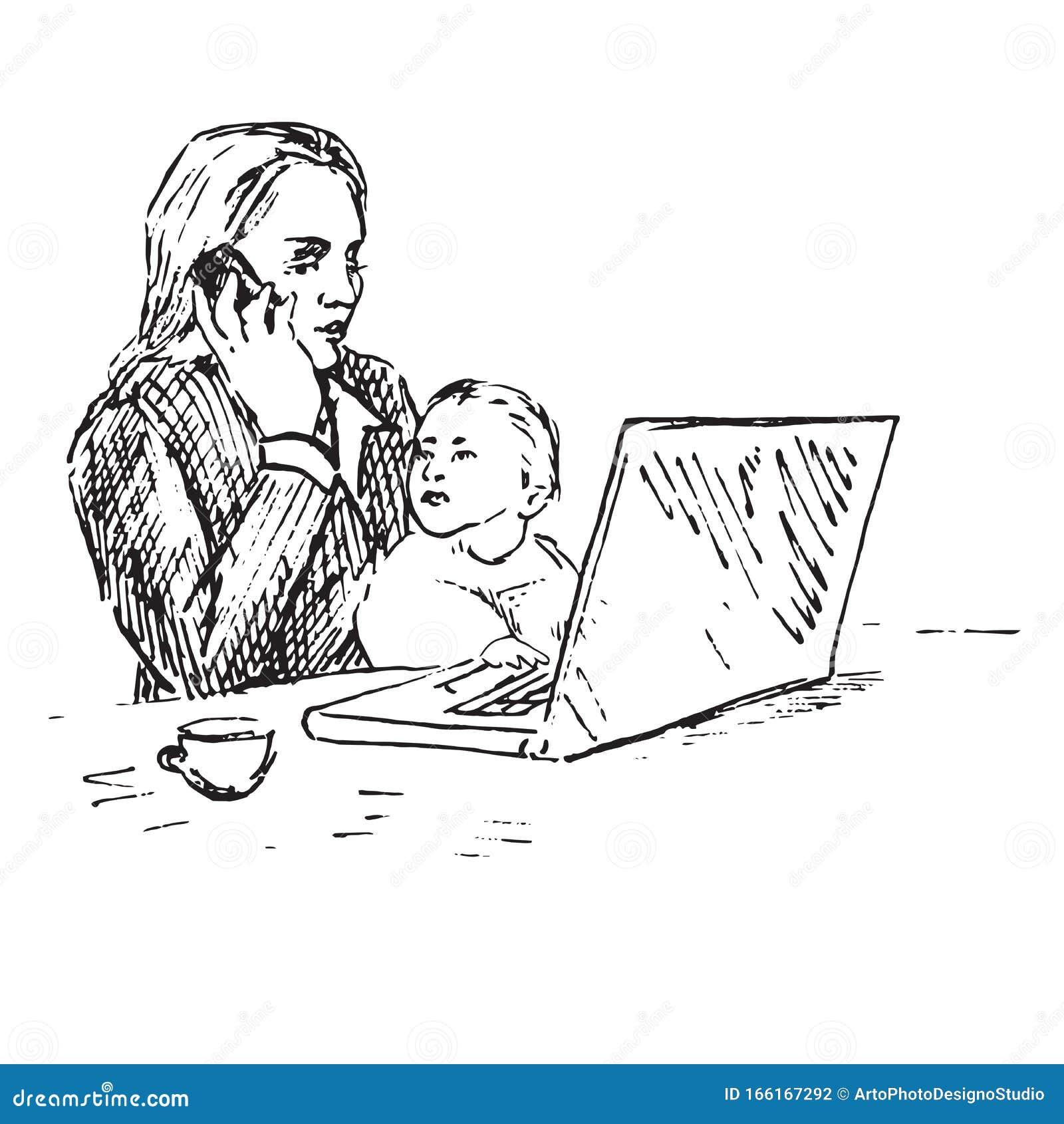 Child Talking Stock Illustrations 4 488 Child Talking Stock Illustrations Vectors Clipart Dreamstime