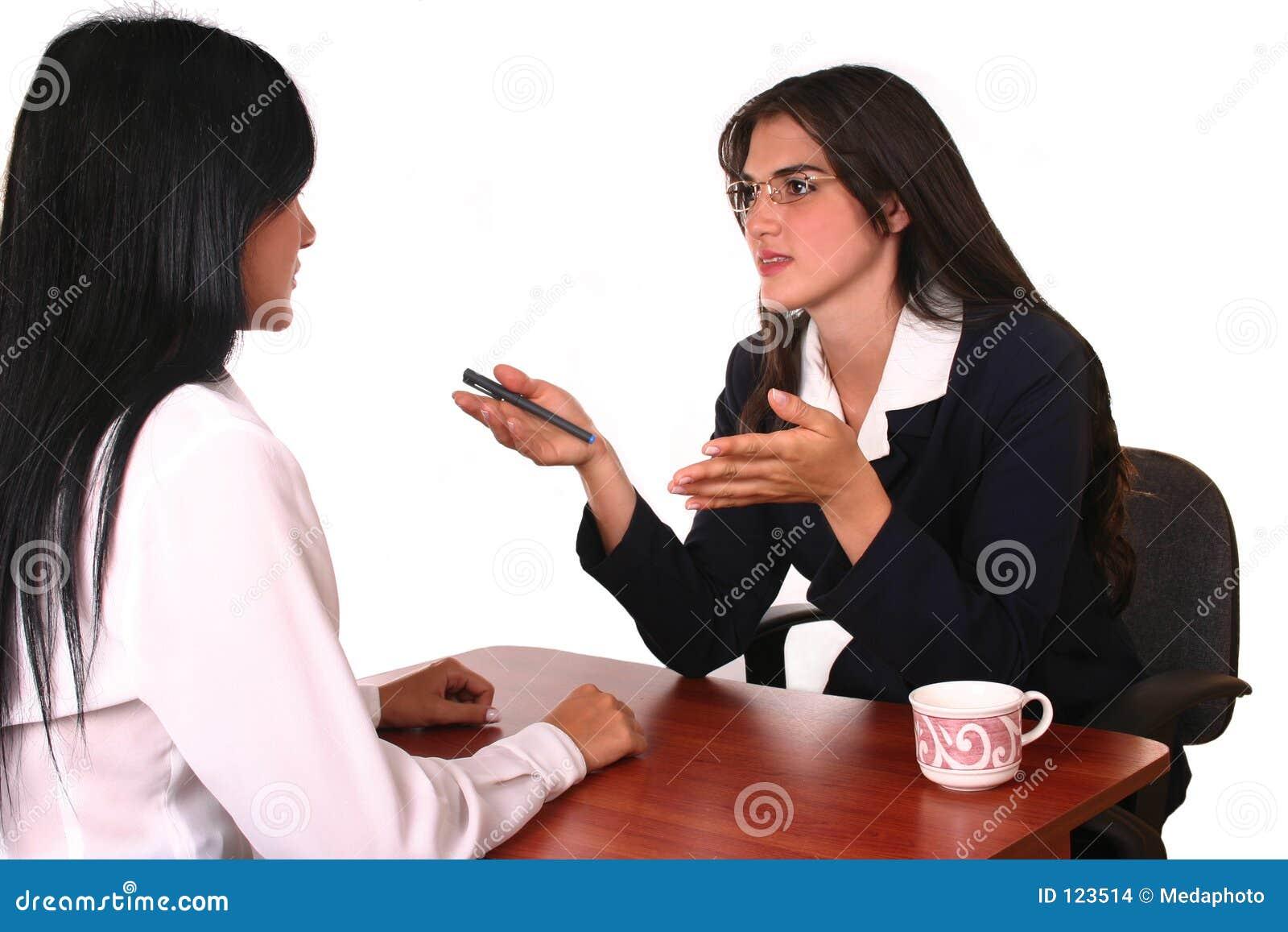 Businesswoman negocjacji