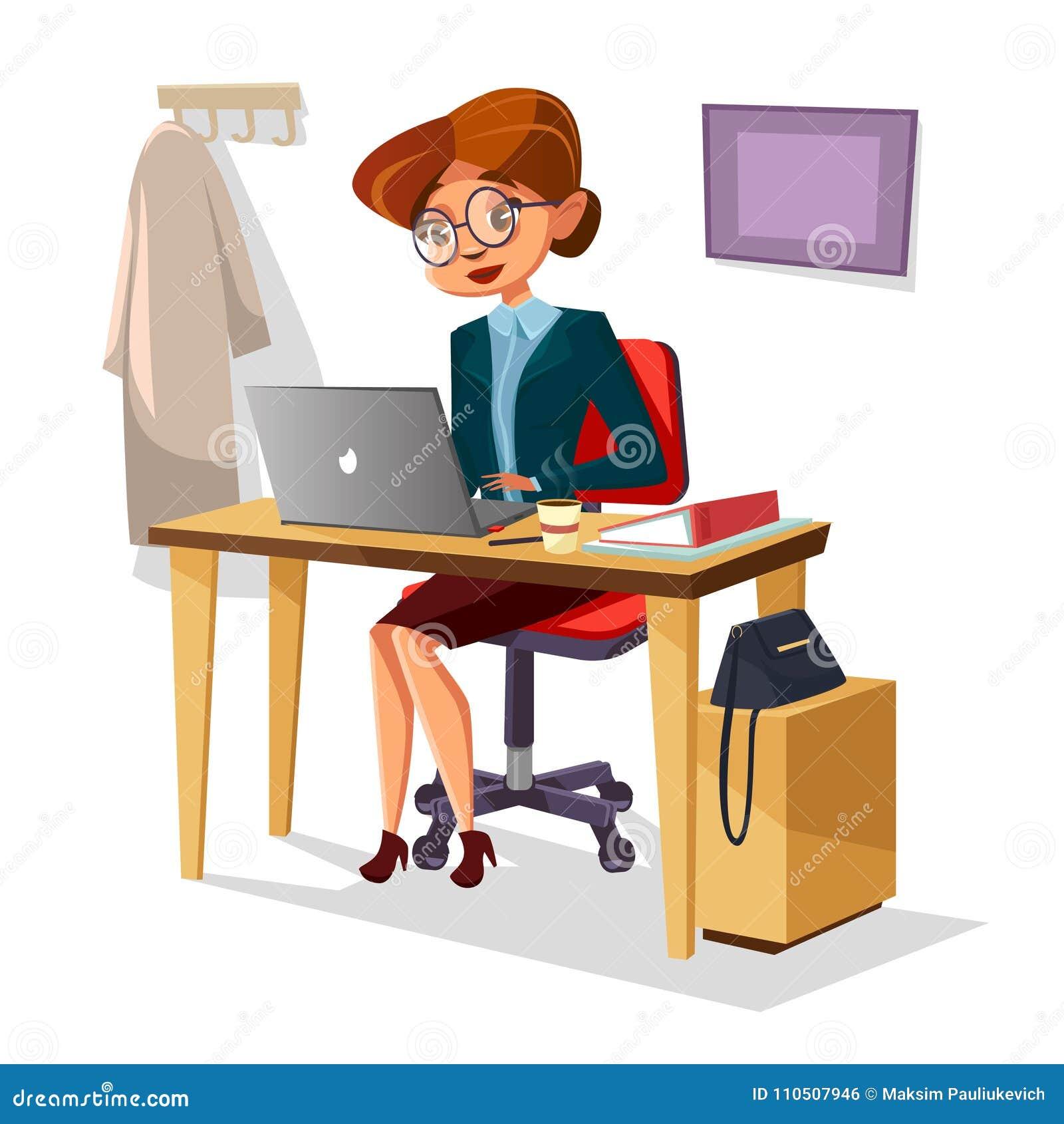confident girl cartoon cartoons illustrations amp vector