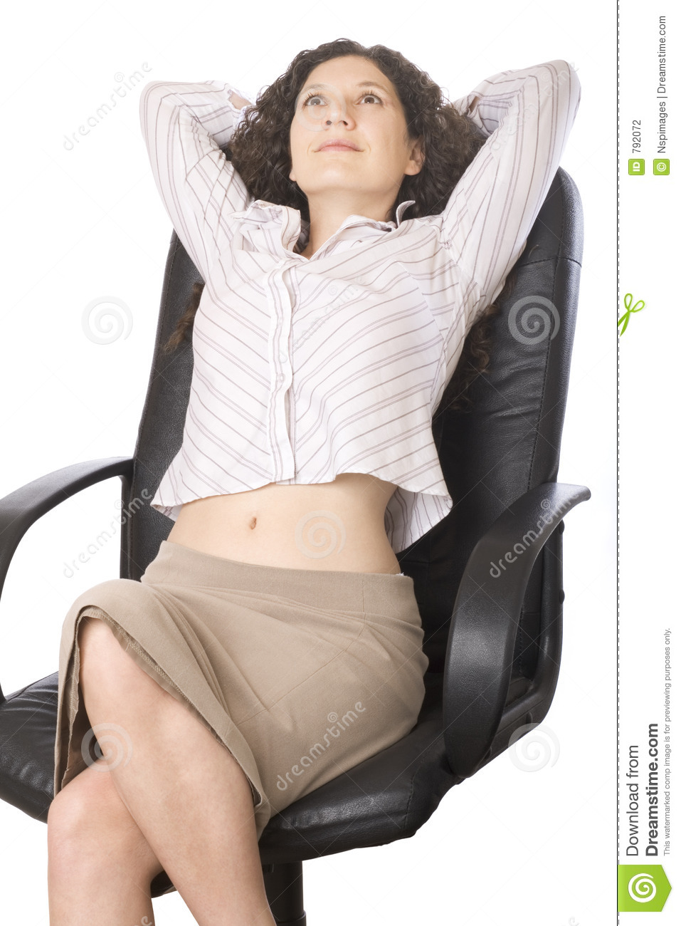 Businesswoman Relaxing Stock Photography Image 792072