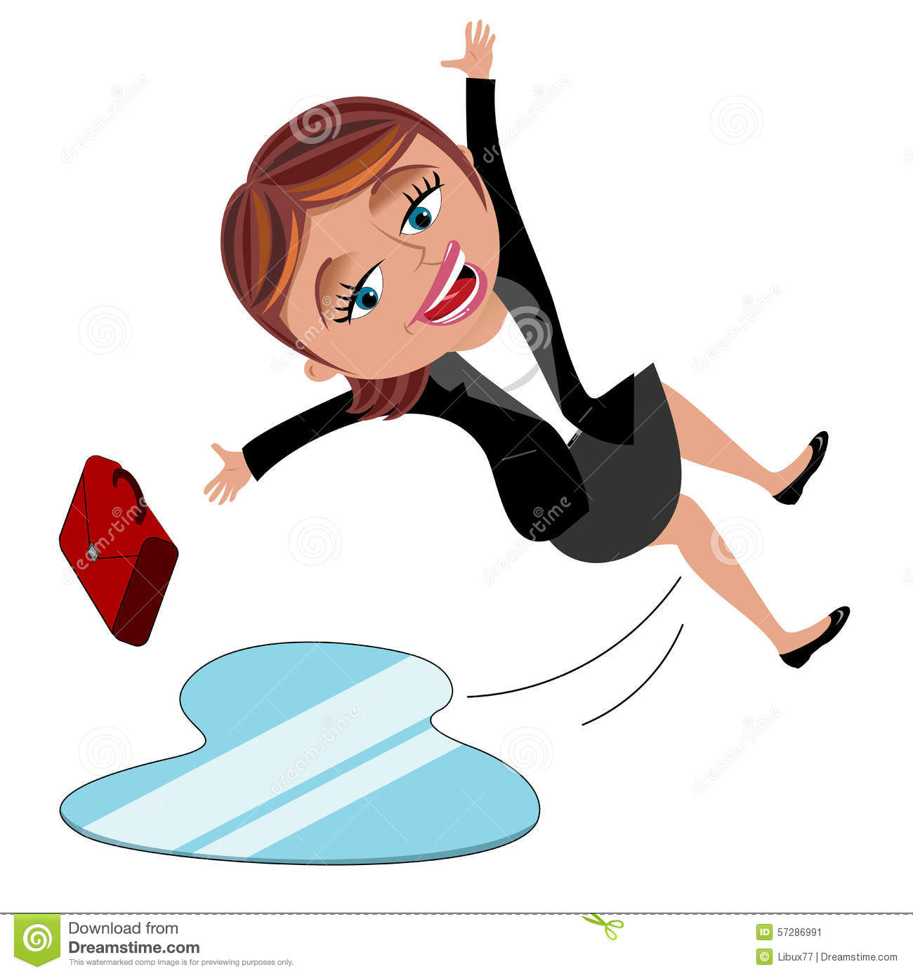 slip and fall clip art free - photo #10