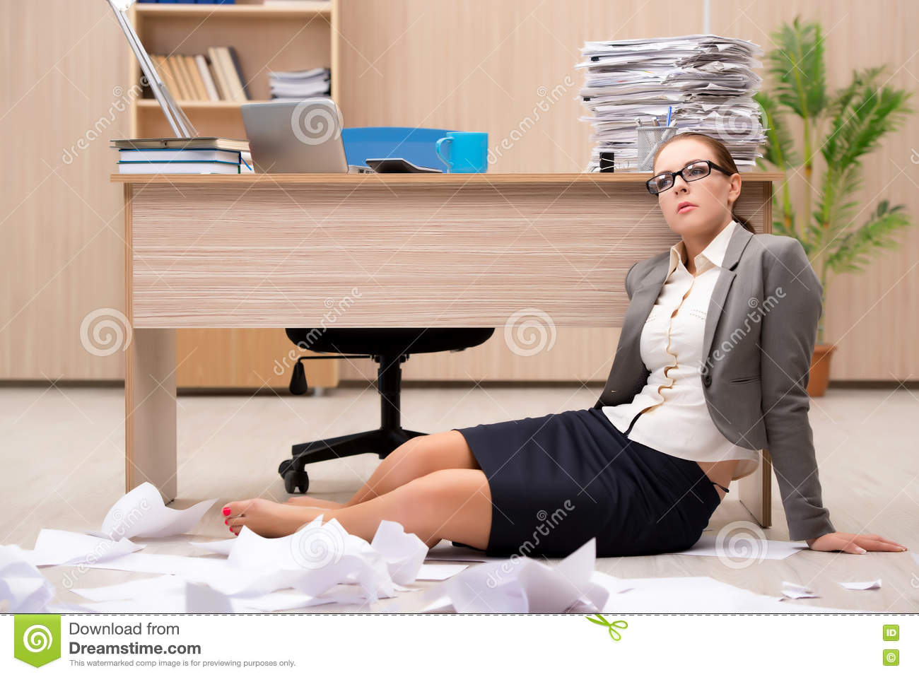 the businessw under stress from too much work in the office the businessw under stress from too much work in the office