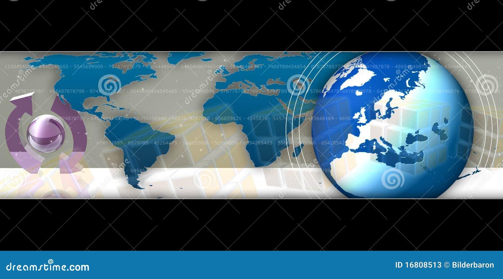 Busniess Background World