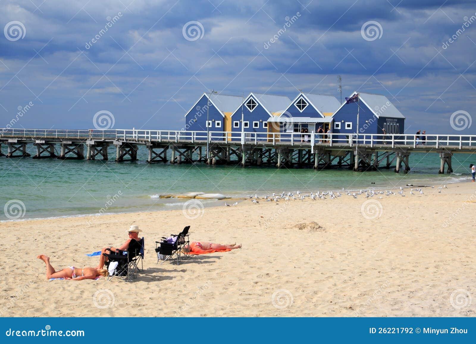 Busselton Jetty, Zachodnia Australia.