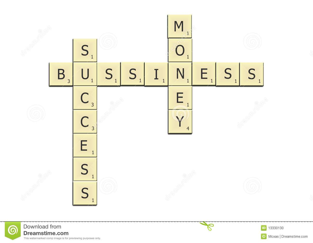 Bussiness crossword