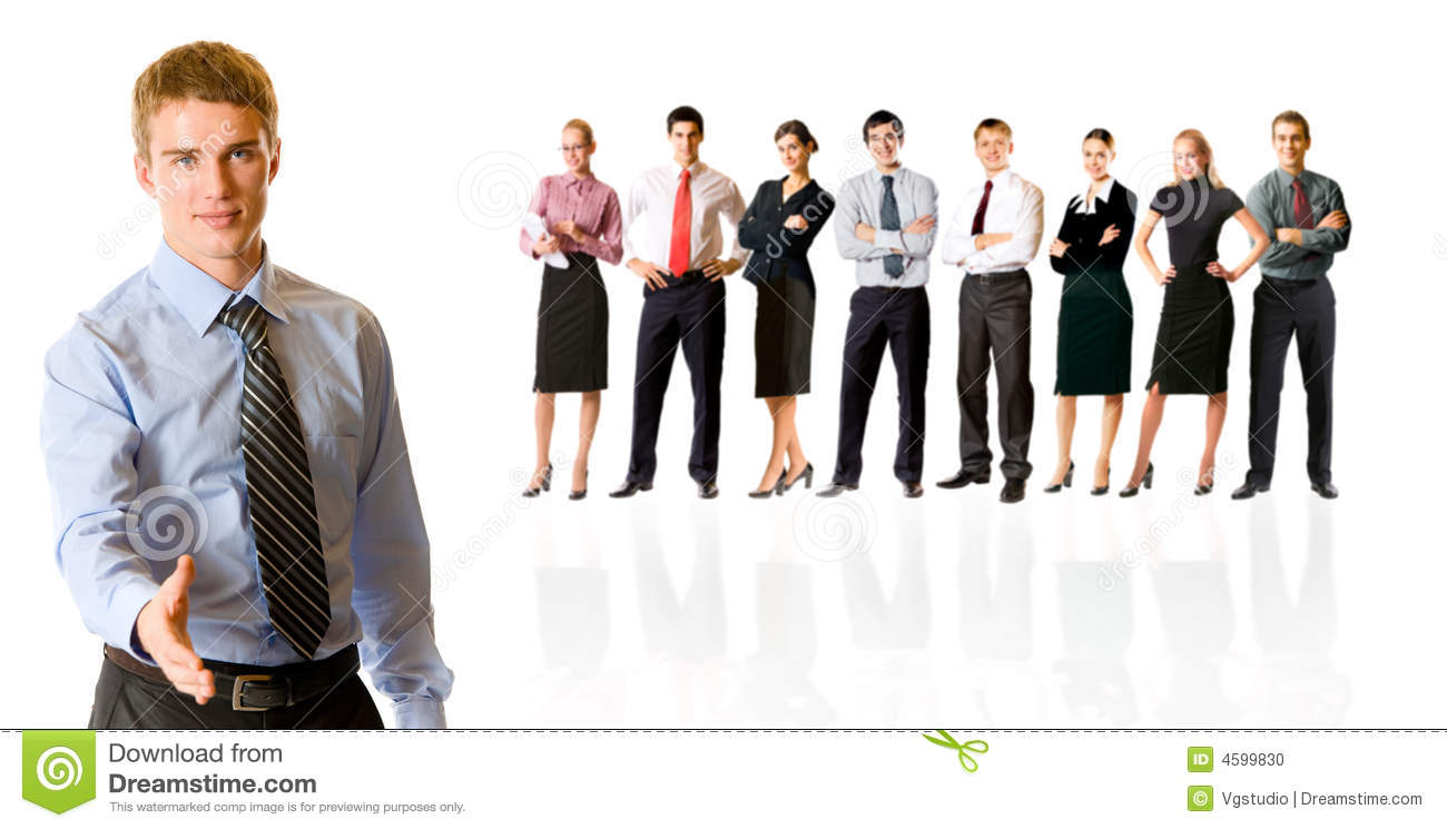 bussiness team stock photo image of employer business 4599830