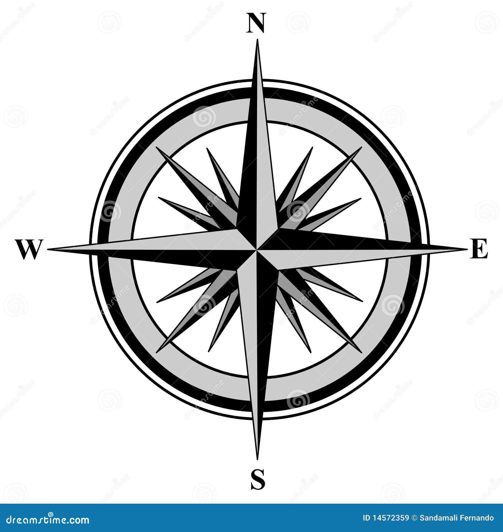 bussola immagini stock libere da diritti immagine 14572359 compass clipart kid compass clipart kid