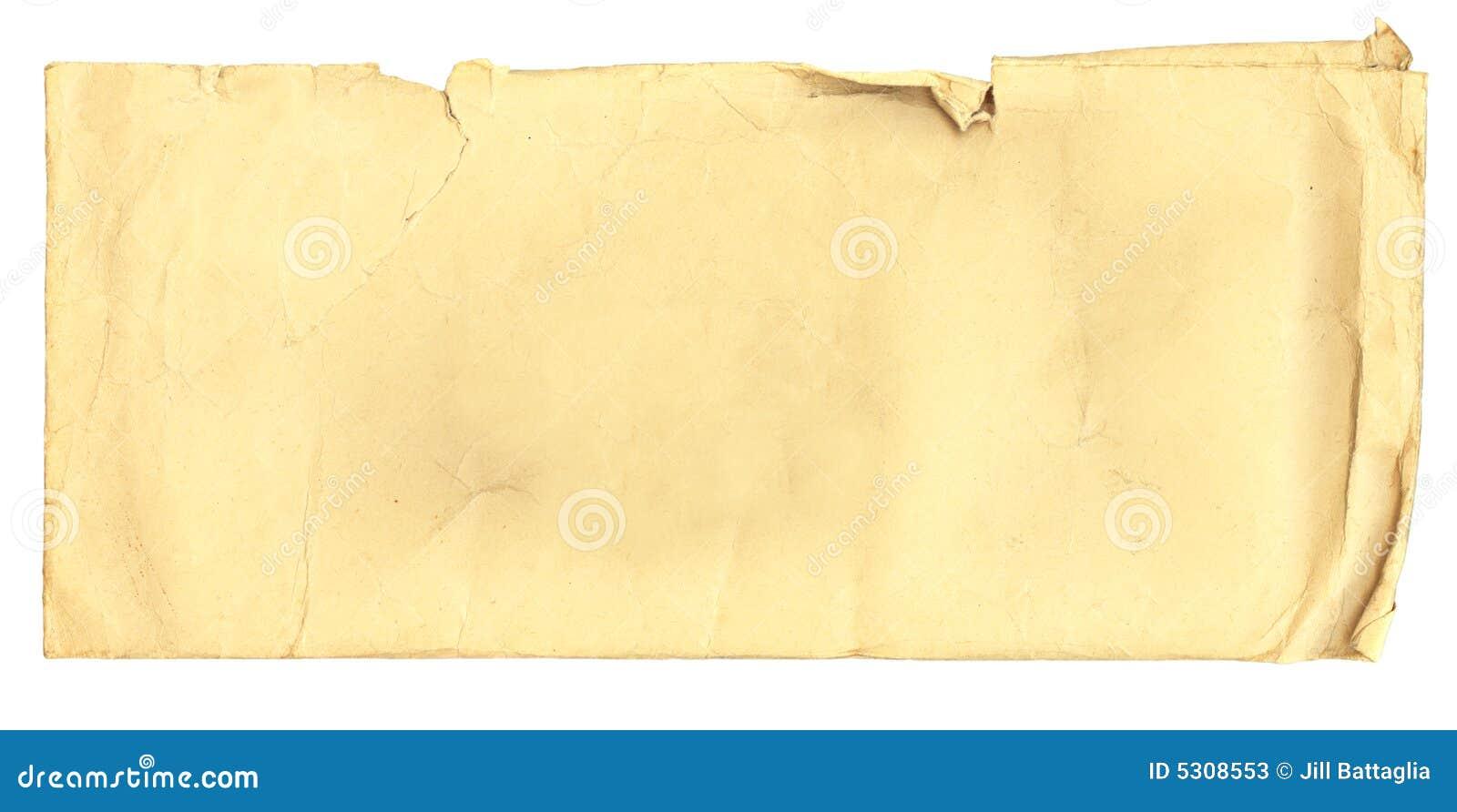 Download Busta Antica Con Le Macchie Illustrazione di Stock - Illustrazione di messaggio, blank: 5308553