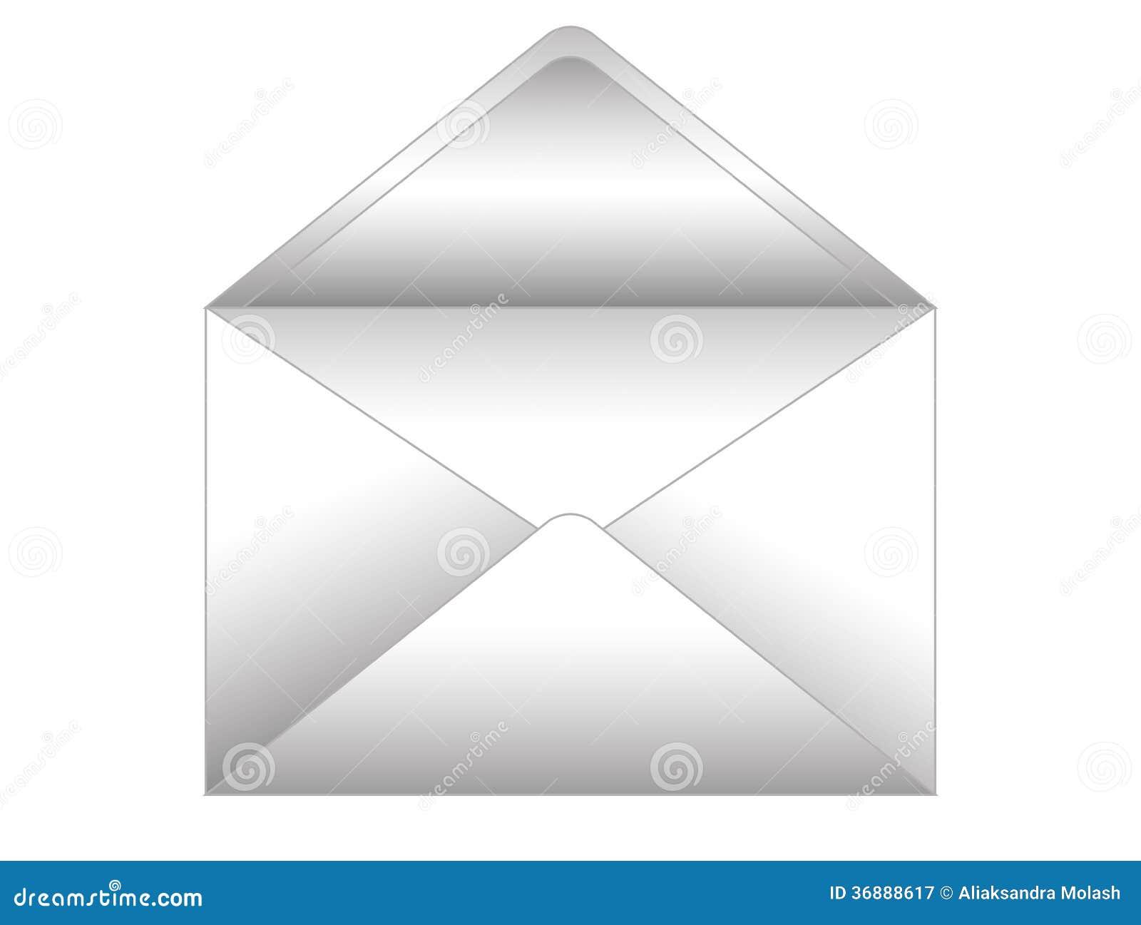 Download Busta dentro illustrazione di stock. Illustrazione di aperto - 36888617