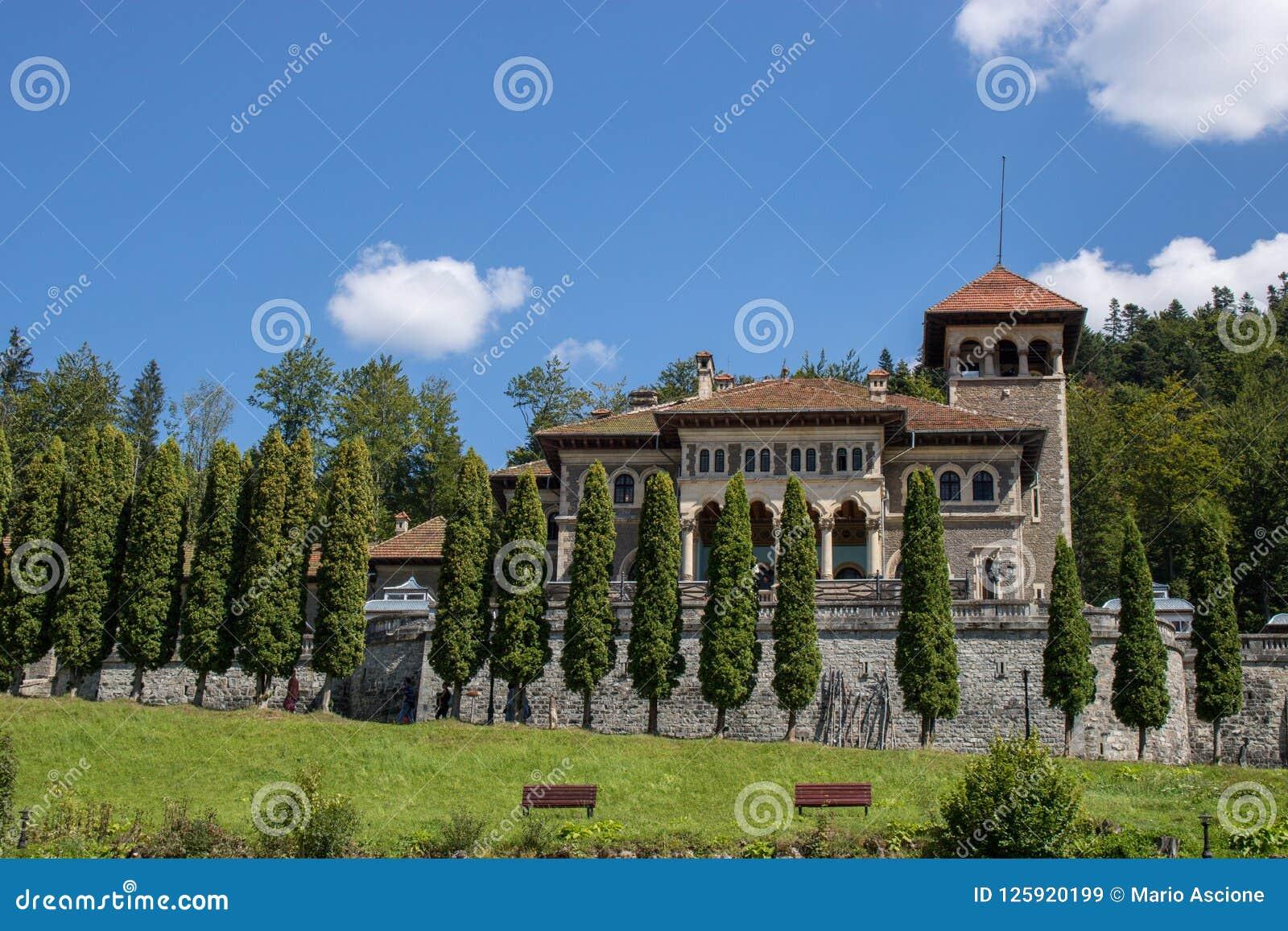The Cantacuzino Castle.
