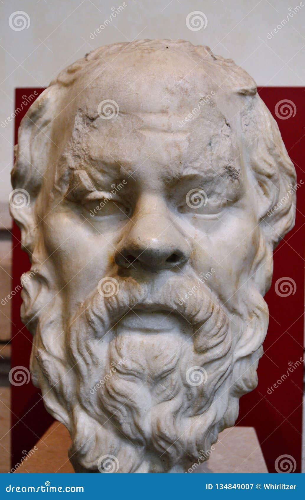 Busto di Socrates