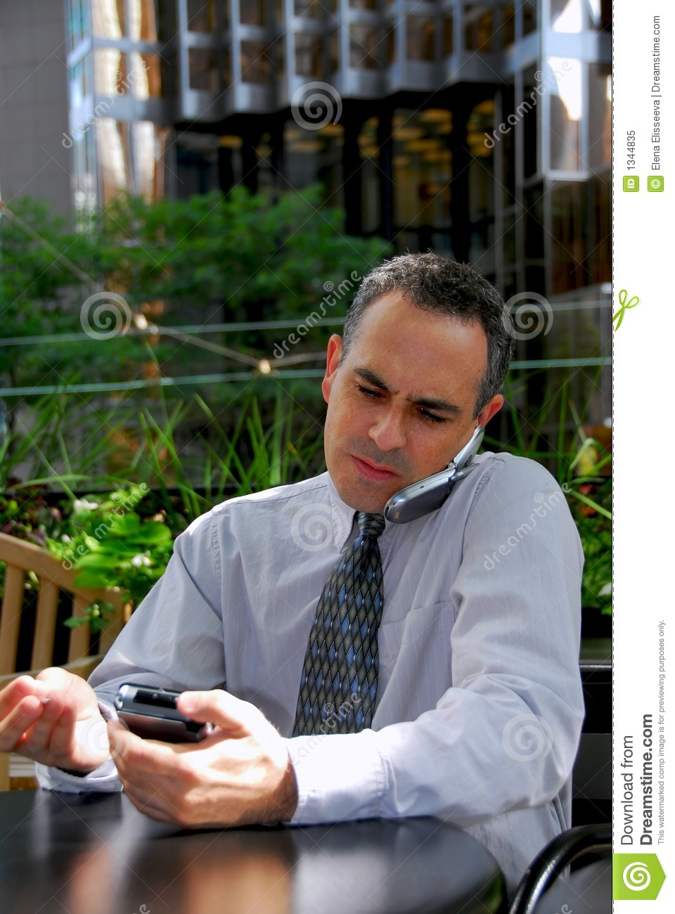 Busy businessman stock image. Image of busy, confidence ...