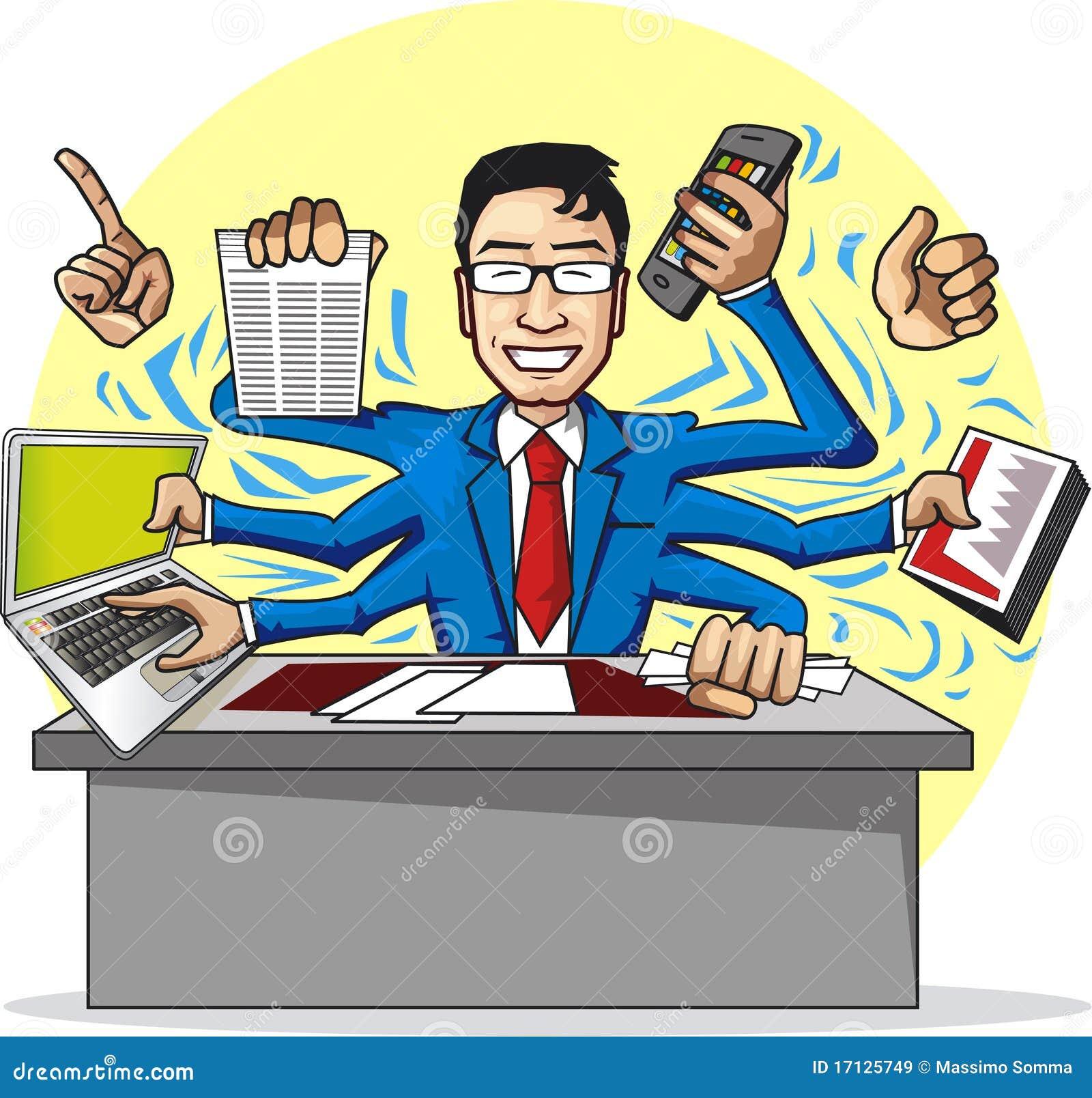 Busy Office Clip Art   www.pixshark.com - Images Galleries ...