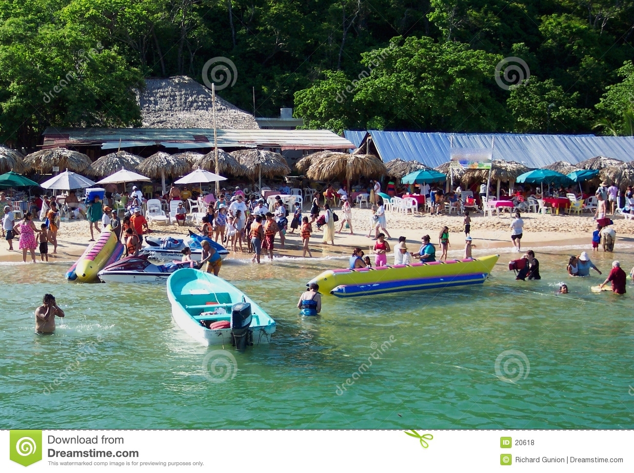 A Busy Day-Huatulco Mexico
